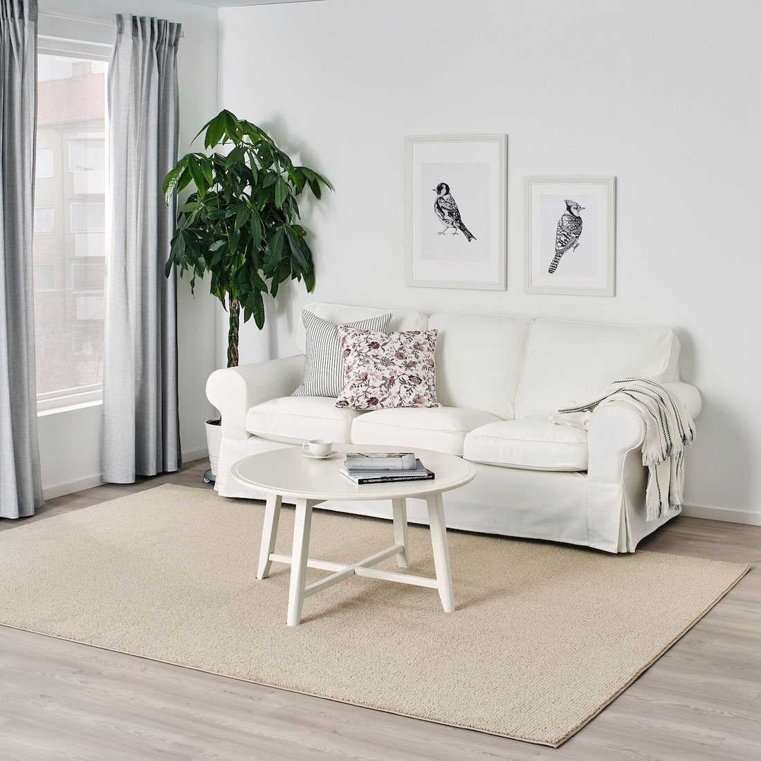 Sporup Rug Low Pile Light Beige 6 7 X9 10 Ikea In 2020 Living Room Flooring Light Beige Ikea #tan #carpet #living #room