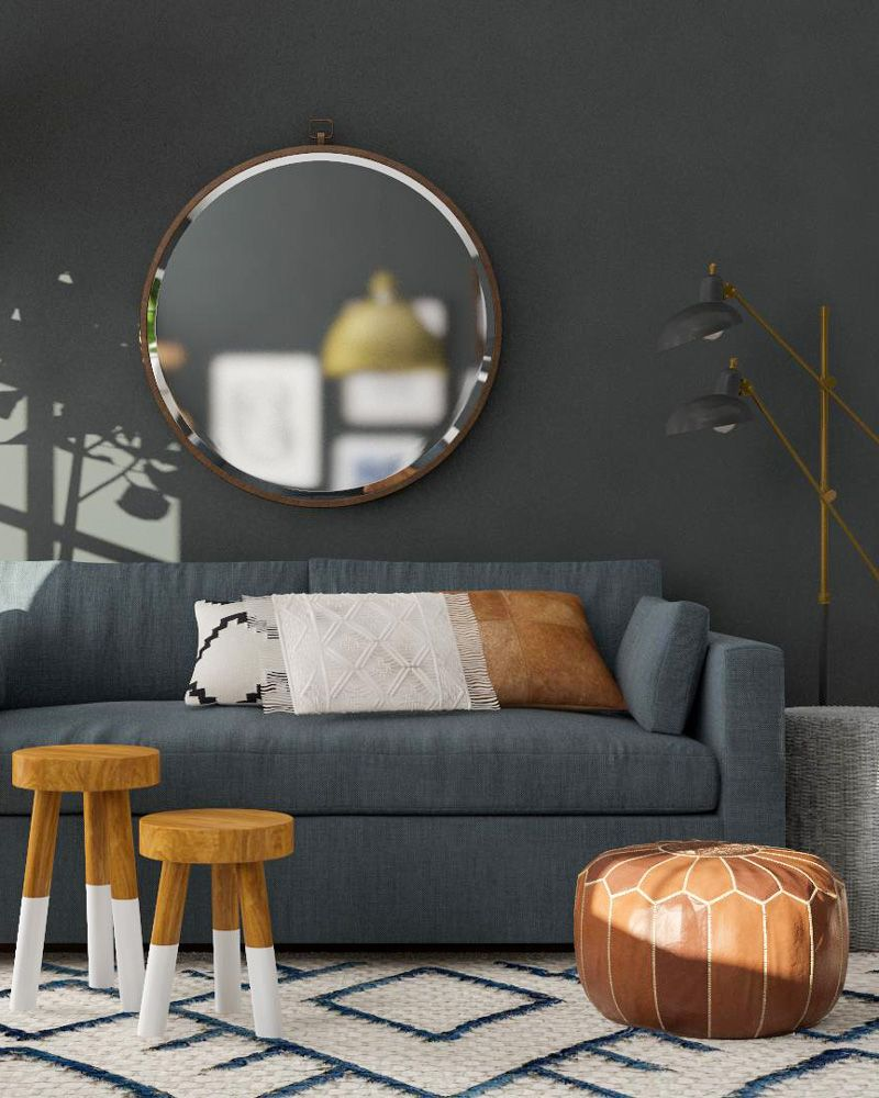 Incredible Modsy Examples How 5 Bloggers Designed Their Rooms With Download Free Architecture Designs Pushbritishbridgeorg
