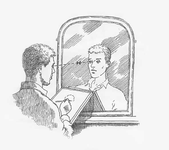 drawing your reflection | Art & Drawing | Pinterest
