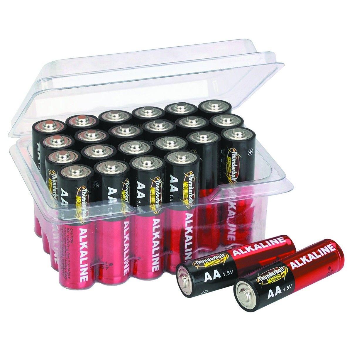 Aa Alkaline Batteries 24 Pk Alkaline Battery Tv Remote Controls Long Shelf