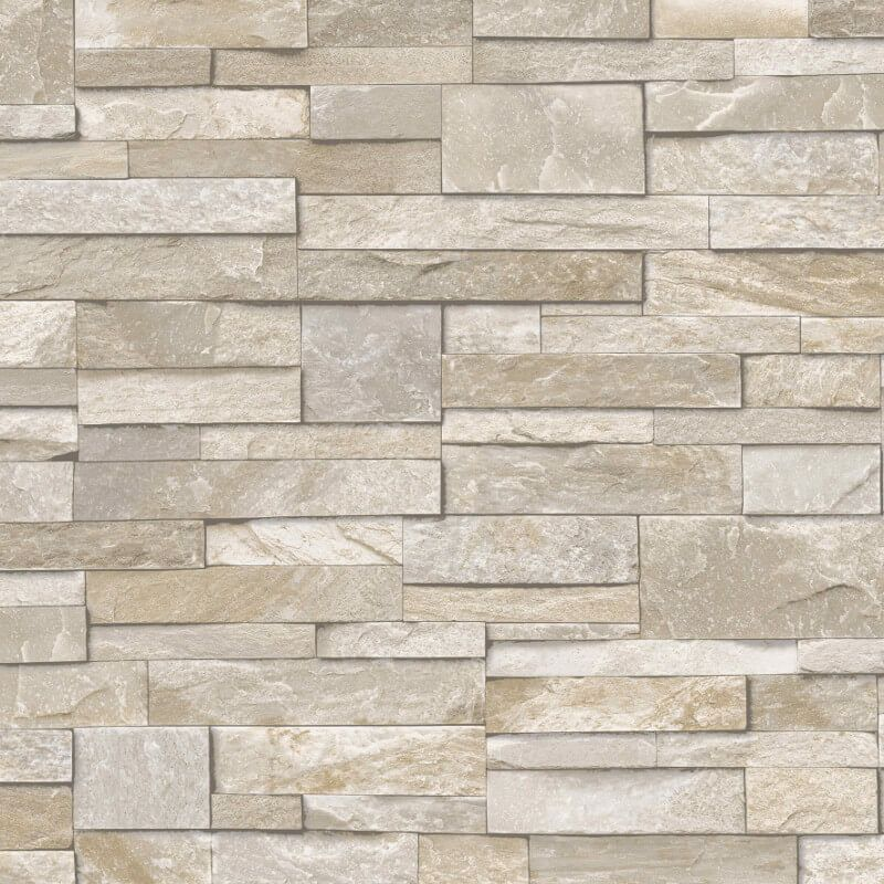 Grandeco Stone Brick Effect Sand Stone Wallpaper A17203 Brick Effect Wallpaper Stone Wallpaper Brick Wallpaper