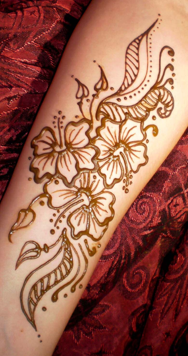 Henna Flower Designs: Henna Flower Tattoo Designs
