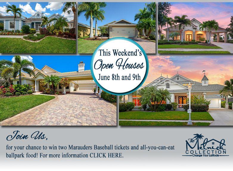 open houses in Bradenton, FL this weekend! Stop