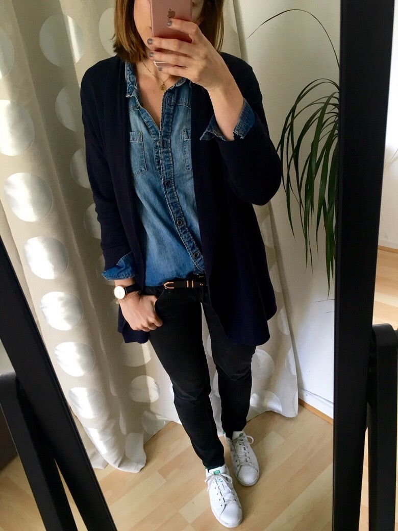 5.13 Jeanshemd Kombo | STYLE / My Capsule Wardrobe | Jeans ...