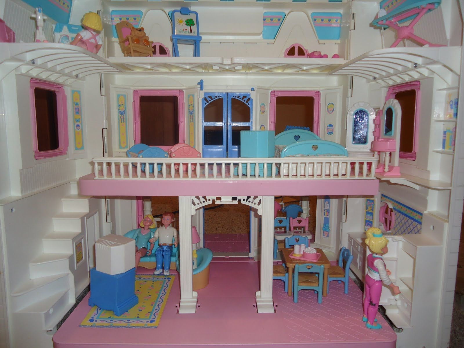 Fisher price doll house furniture - Fisher Price Doll House I Loved My Doll House