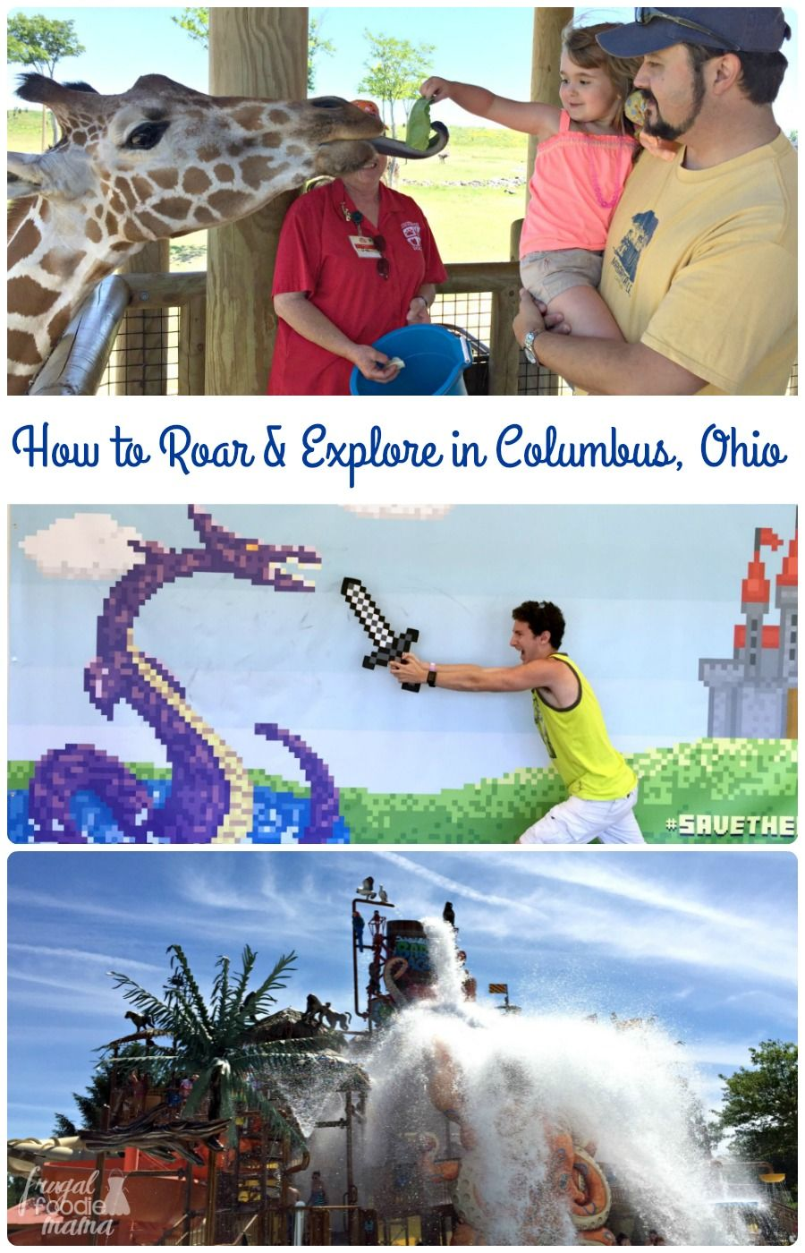 Not only is the fun-packed Columbus Roar & Explore Getaway budget friendly, but it also offers a little something for everyone in the family from the preschooler to the teenager to the adults. #sponsored
