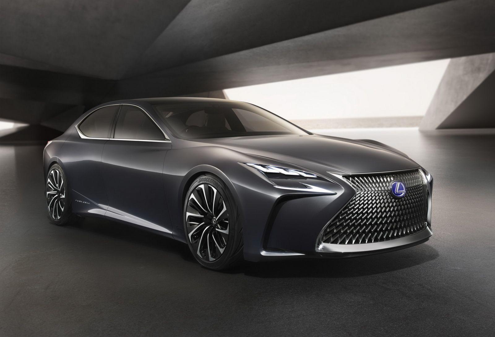 Next Gen Lexus Ls To Get Hydrogen Variant Lexus Ls Lexus Cars Lexus Ls 460