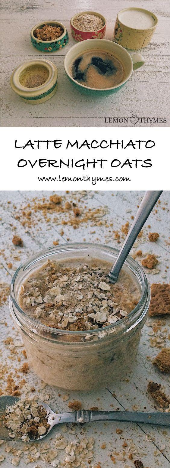 Latte Macchiato Overnight Oats