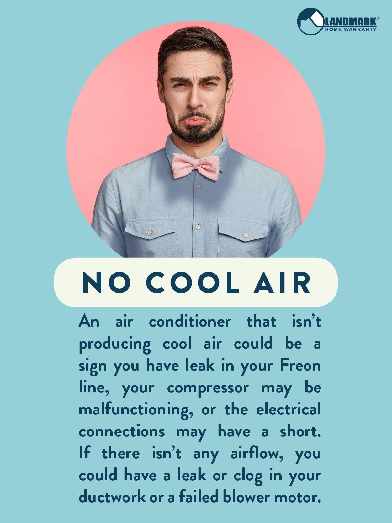 It's HOT! Especially if your air conditioner isn't blowing