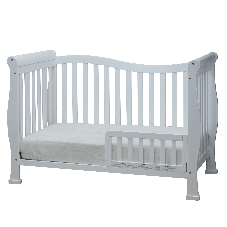 AFG Baby Furniture Mikaila Zoe 3 in 1 Convertible Crib Espresso