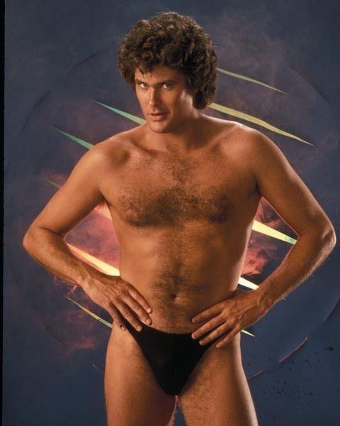 David hasselhoff naked