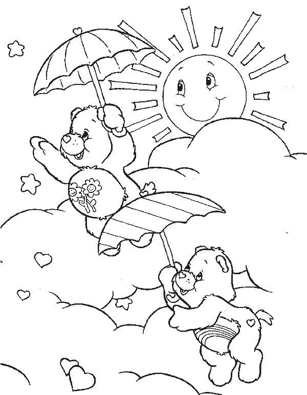 Care Bears Sunshine Coloring Pages Disney Coloring Pages Bear Coloring Pages Disney Coloring Pages Coloring Pages