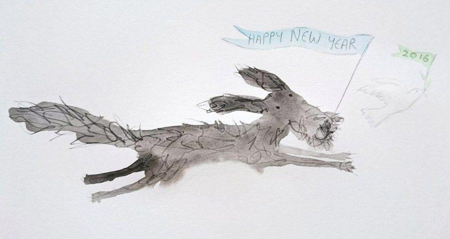 Happy New Year 2016 Hazel Terry