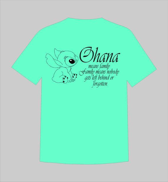 f71345102 Disney Family Stitch Ohana Means Family Shirts - Perfect for Family ...