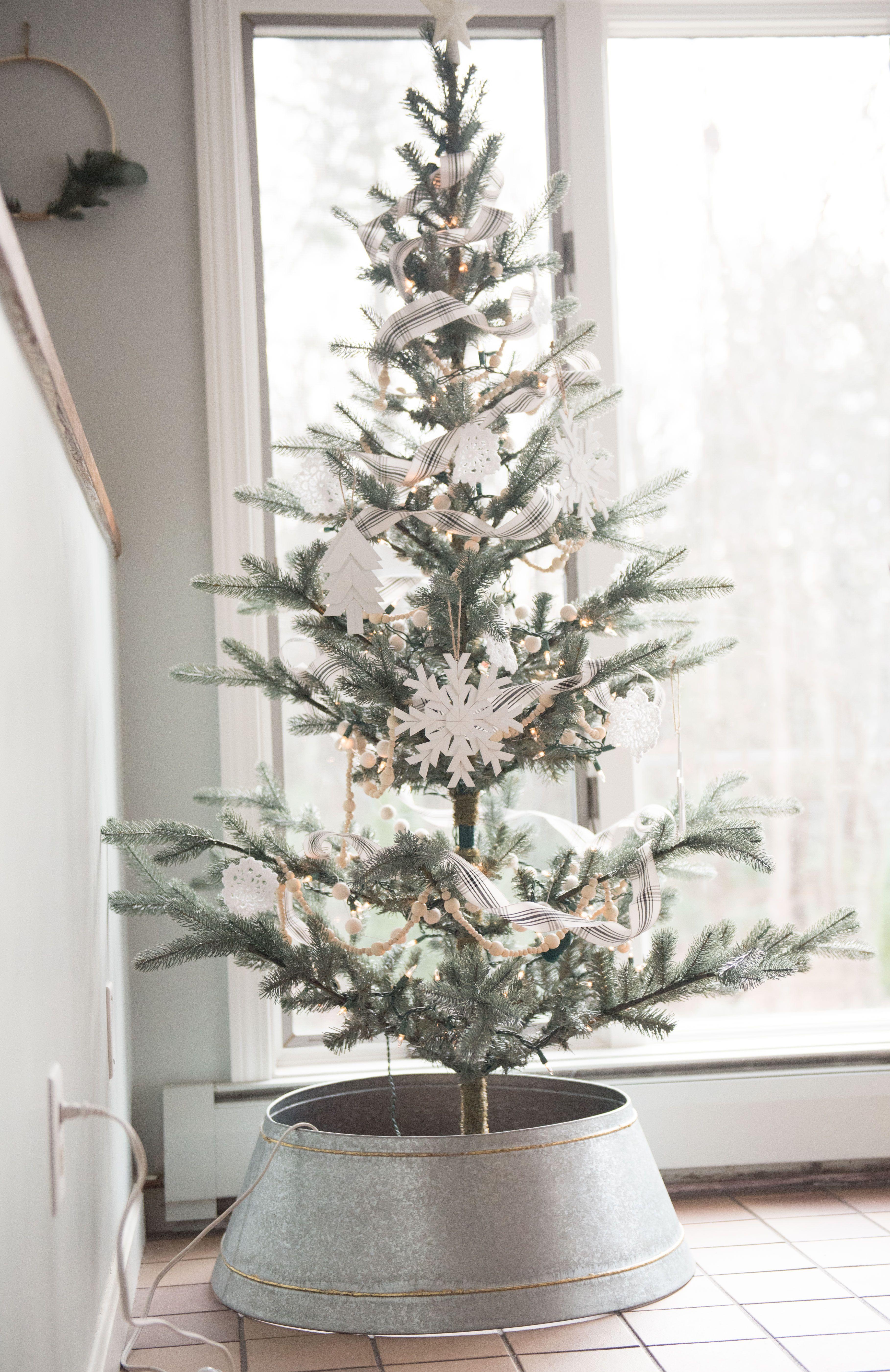 Christmas Home Tour 2017 Part 1 Hand christmas tree