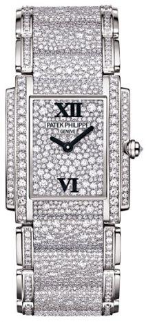 super popolare 21767 0053c Patek Philippe Orologio in oro tempestato di diamanti ...