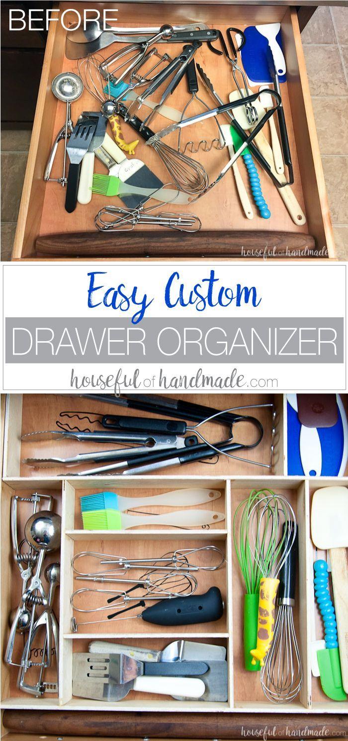 Kitchen Utensil Drawings U0026 Kitchen Drawer Organization