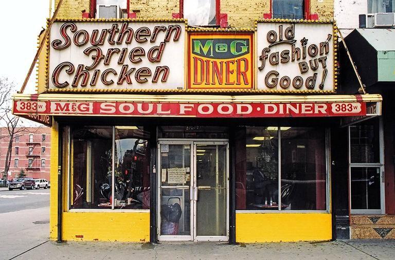 Mg soul food diner harlem new york 2007 soul food