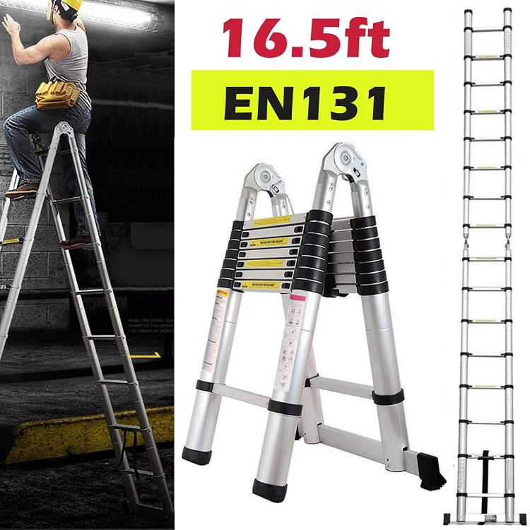 The 12 Best Extension Ladder Reviews In 2020 Best Market Reviews In 2020 Telescopic Ladder Ladder Best Ladder