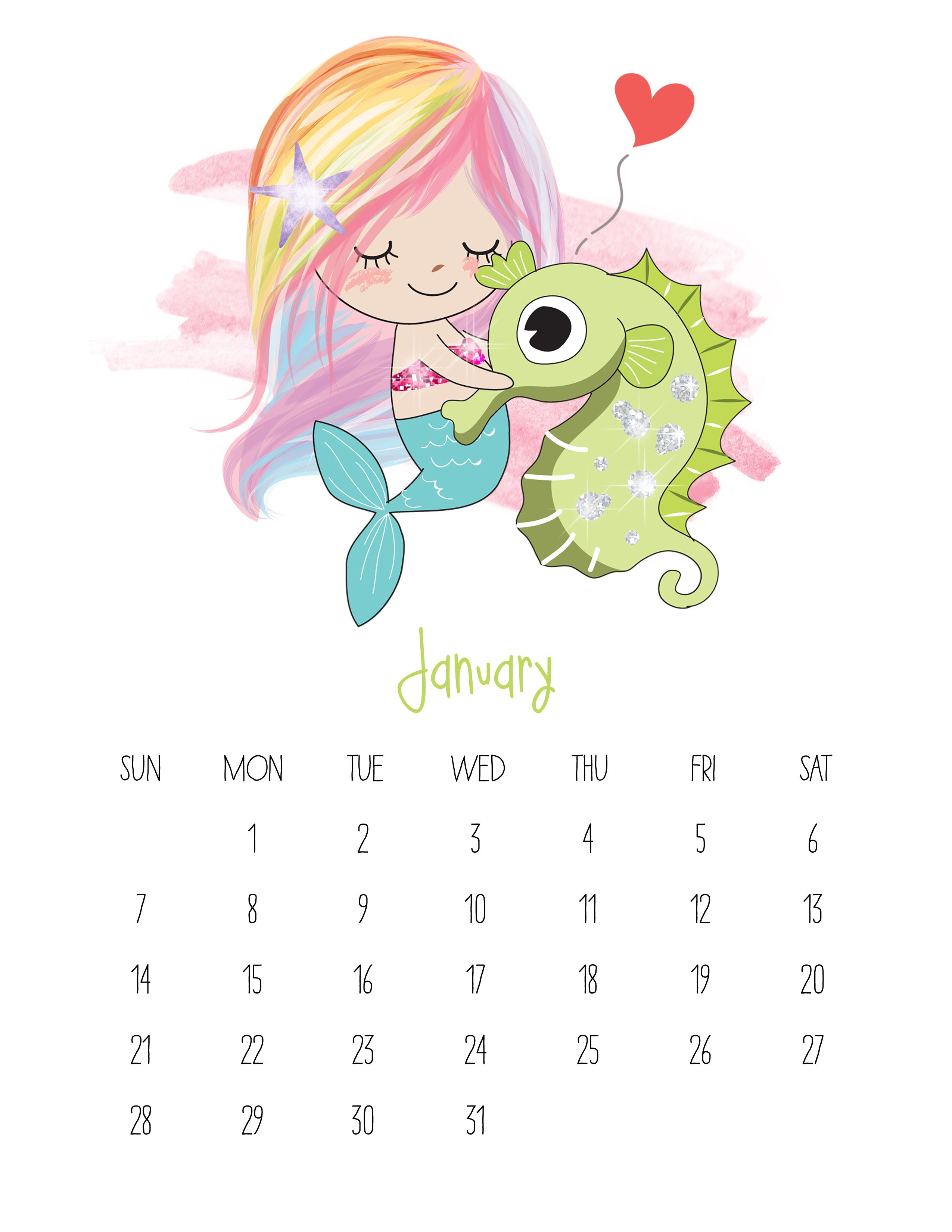 January 2018 Calendar For Kids Maxcalendars Pinterest Calendar