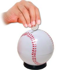 Baseball Sports Bank from Windy City Novelties