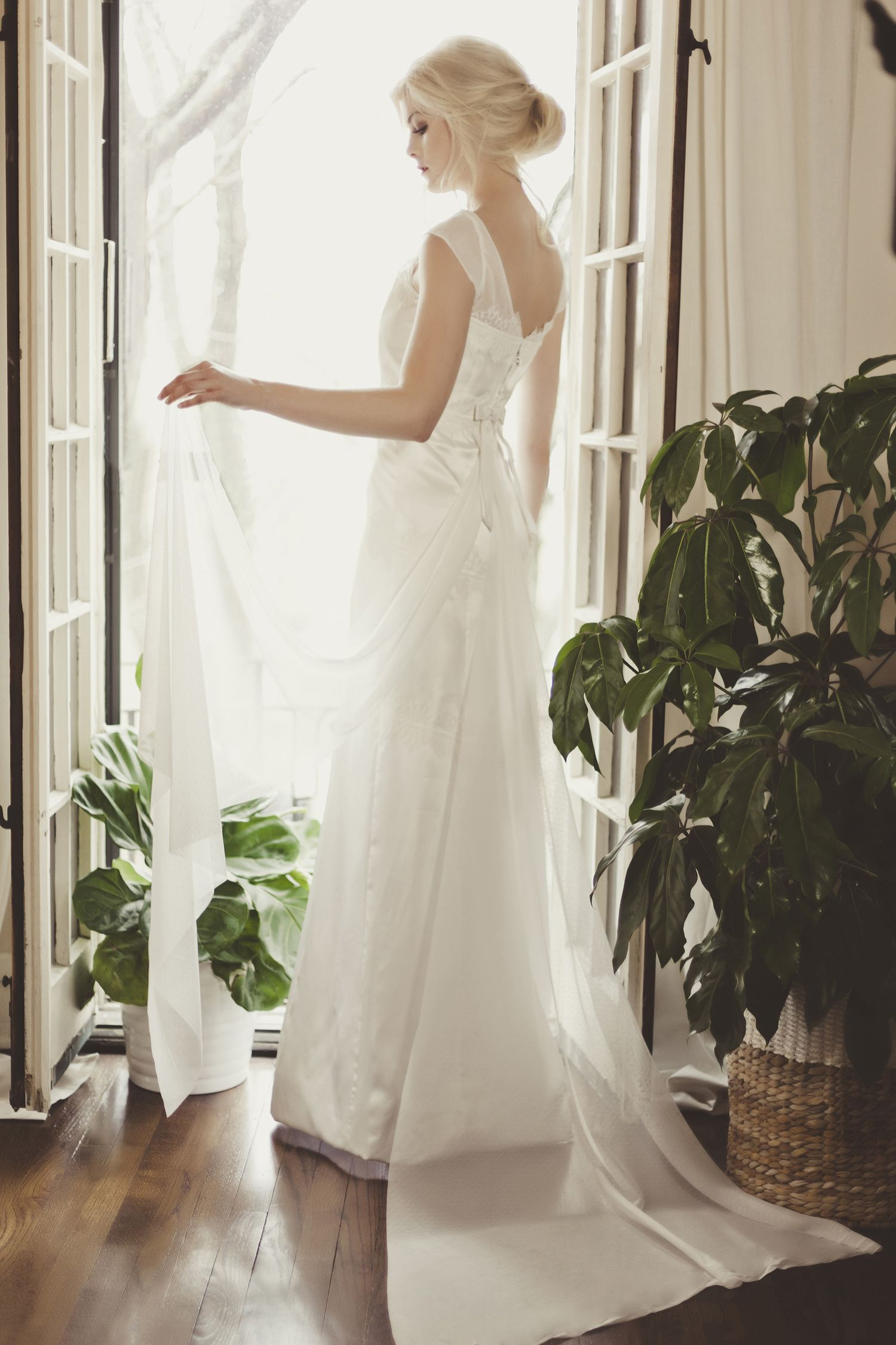 Veronica sheaffer bridal l orchid gown bridal vsgowns