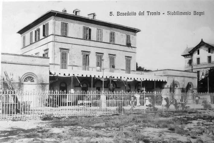 Il primo stabilimento Balneare
