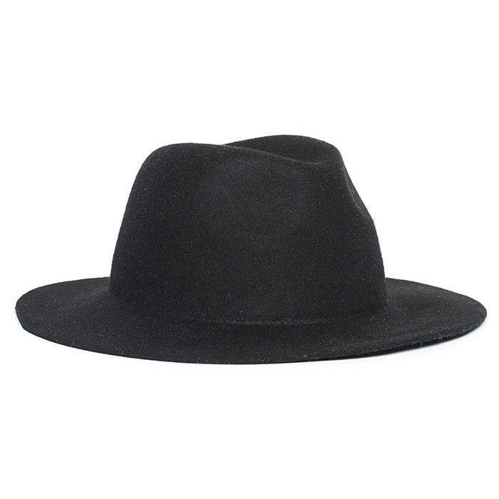 db90208d487 Afends East - Felt Hat - Black