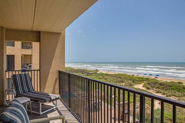 Balcony View At Sea Breeze Beach Resort South Padre Island