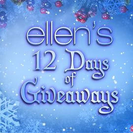 i want to win the 12 days of christmas with my pal ellen