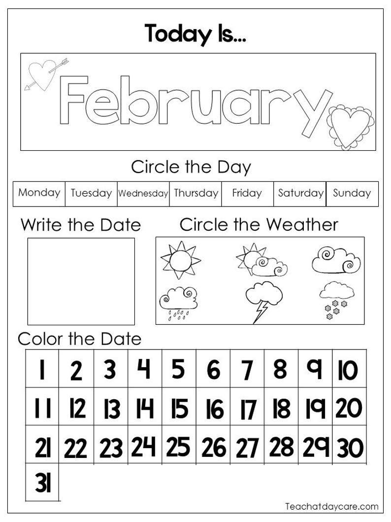 12 Printable Preschool Calendar Worksheet Pages Month Day Date Weather Interactive Homeschool Notebook Preschool Calendar Calendar Worksheets Kindergarten Calendar [ 1059 x 794 Pixel ]