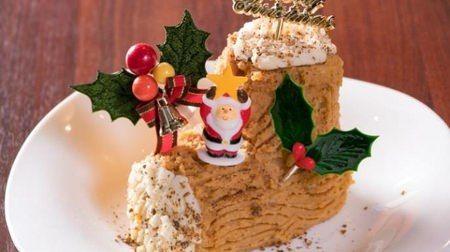 見た目はクリスマスケーキなケーキやきとり2016--ことしはウコン入り