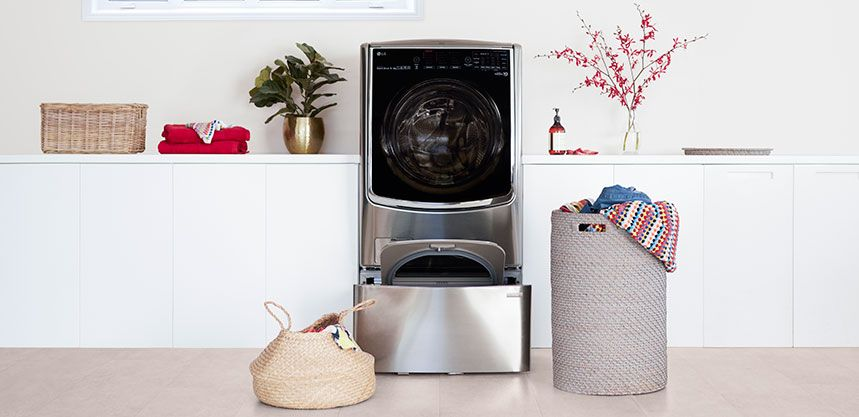 The Lg Twin Wash Washing Machine That Lets You Do Two Loads Of