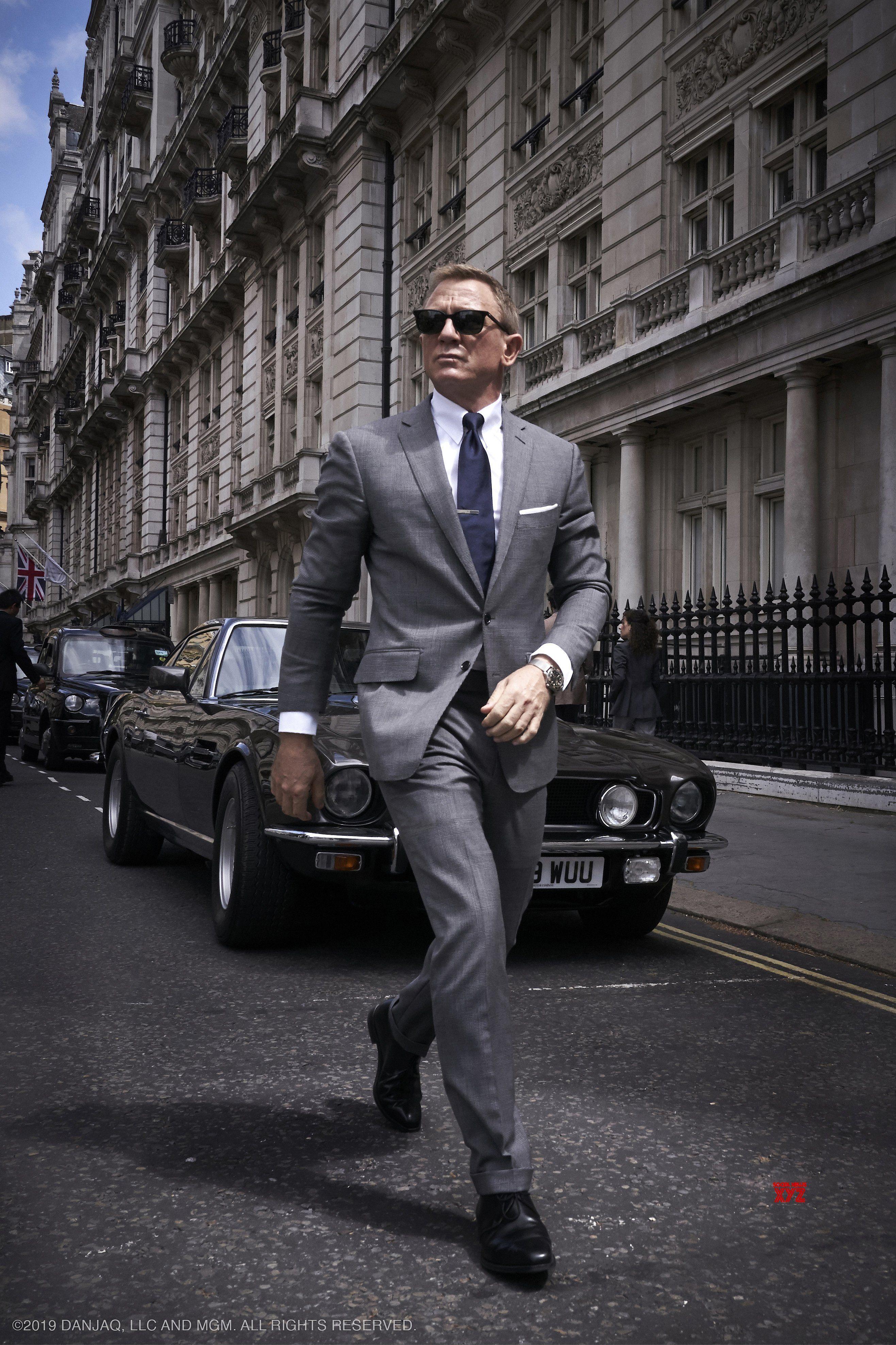 James Bond Daniel Craig Skyfall Film Film Agent 007 Romans Affiche London Homme