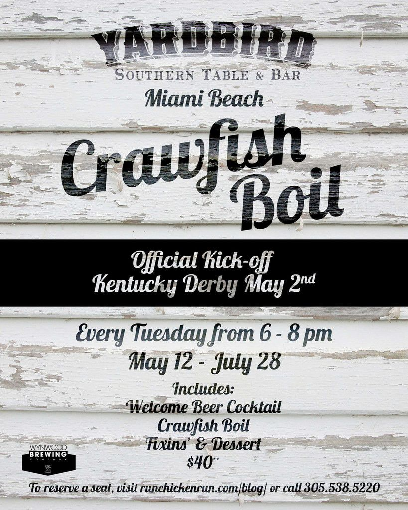 Crawfish Boil At Yardbird Southern Table & Bar - Special Event | Flavour Gallery