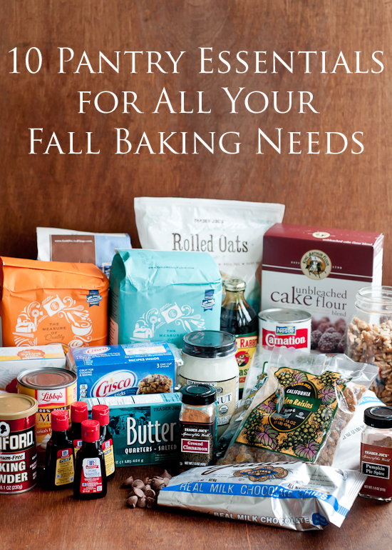 10 Pantry Essentials For All Your Fall Baking Needs Fall Baking