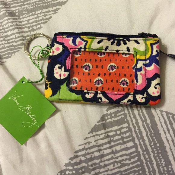 NWT Vera Bradley zip id in Rio Super cute zip id. Open to reasonable offers  Vera Bradley Accessories Key & Card Holders