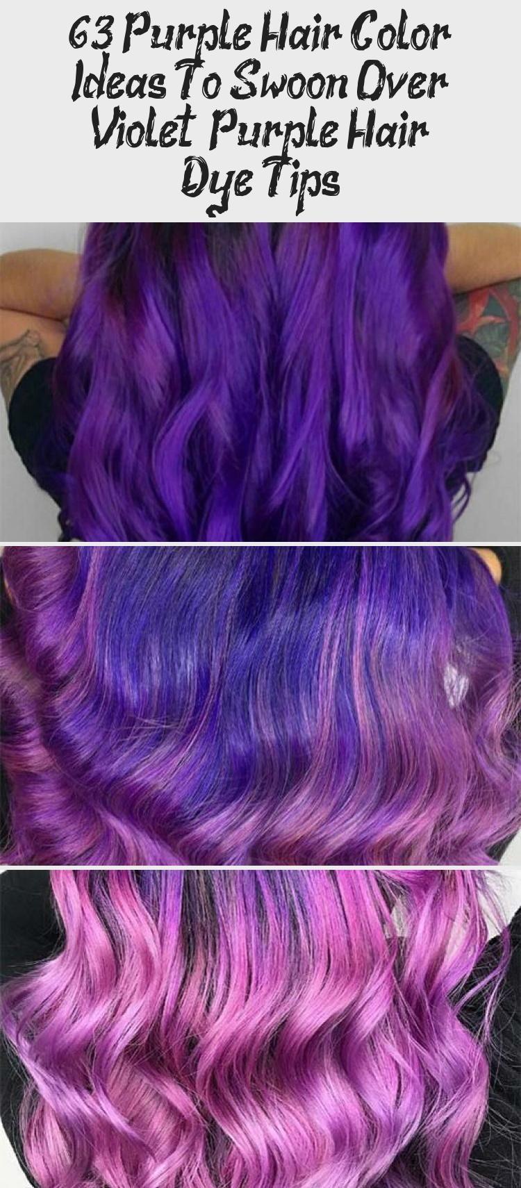 Violet Purple Hair Color Ideas Purple Hair Dye Tips Purplehair Violethair Purple Violet Hair Haircolor In 2020 Dyed Hair Purple Purple Hair Hair Color Purple