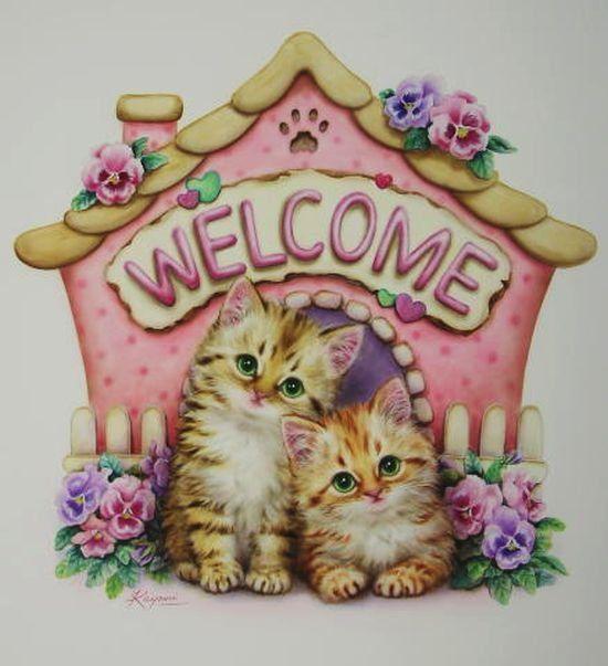 Kayomi Harai. Милые котята. Обсуждение на LiveInternet ...