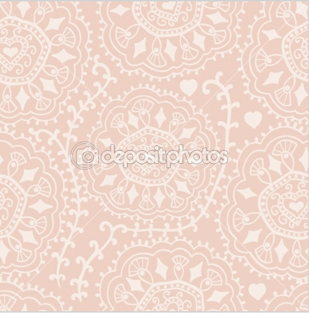 Pink Lace Texture Retro Background Seamless Patterns Textured Background