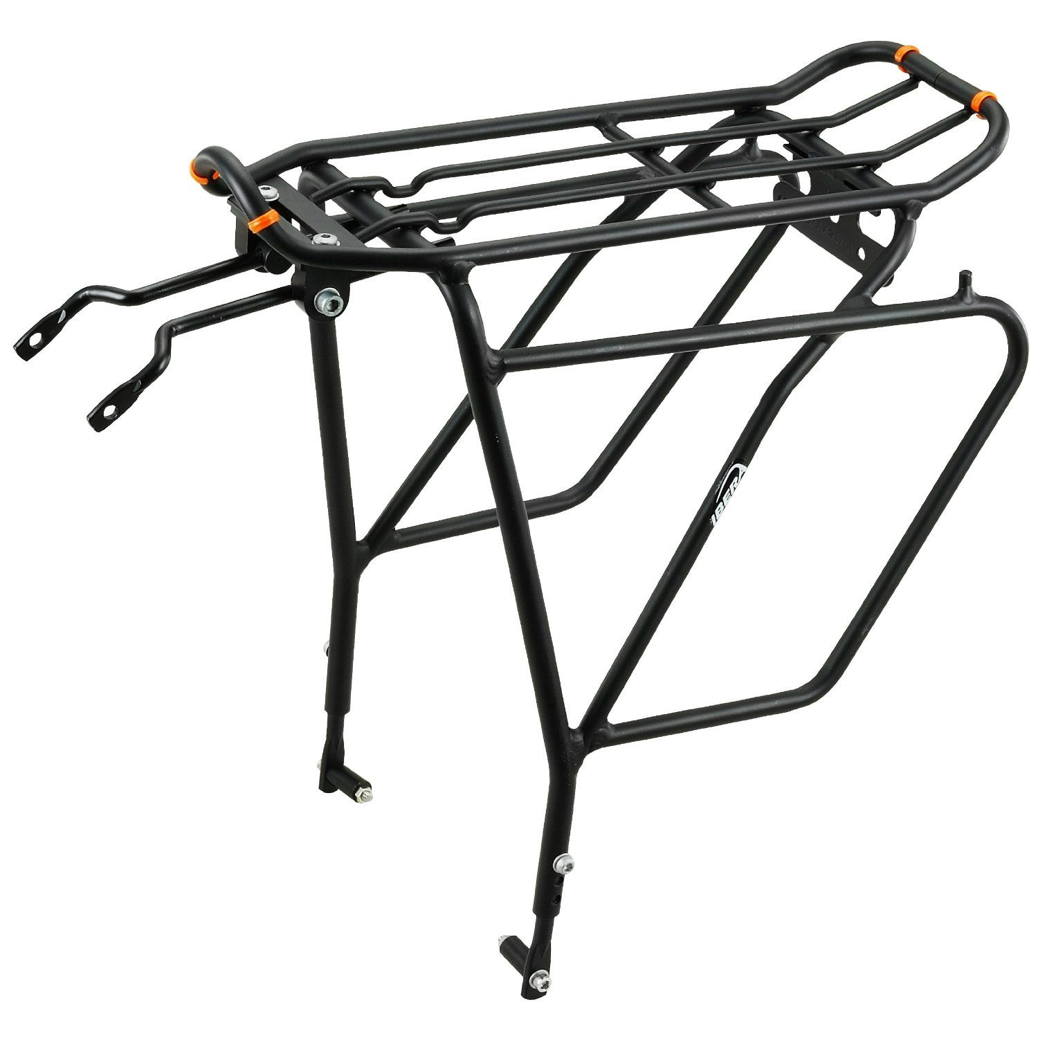 Ibera Pakrak Bicycle Touring Carrier Plus (With Disk Brake Mounts)