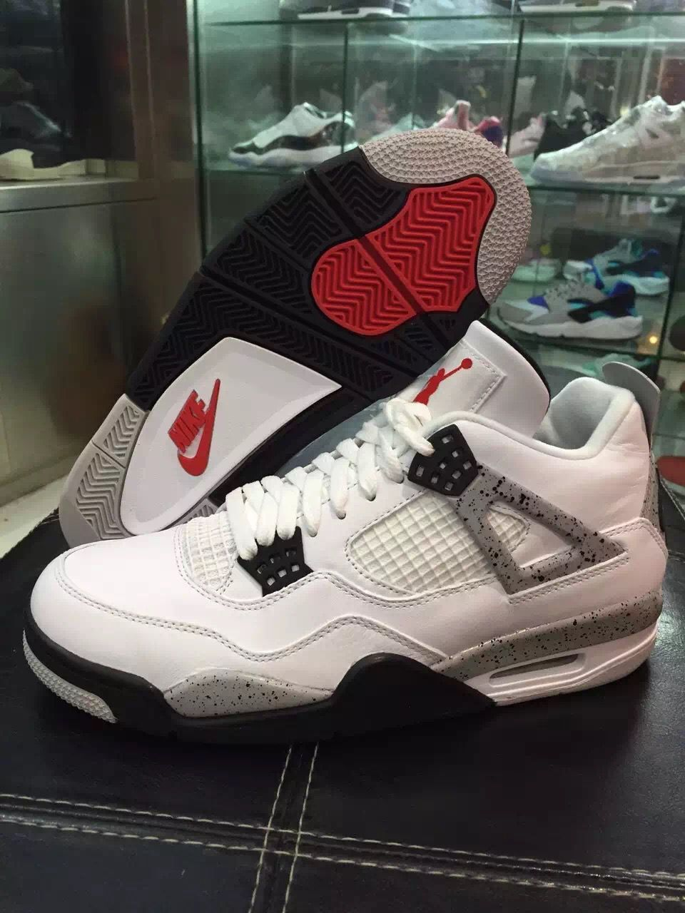 balsa petróleo Llamarada  Nike Air Jordan 4 OG 89 White Cement 2016 - Sneaker Bar Detroit | Air  jordans, Jordans, Nike air jordan
