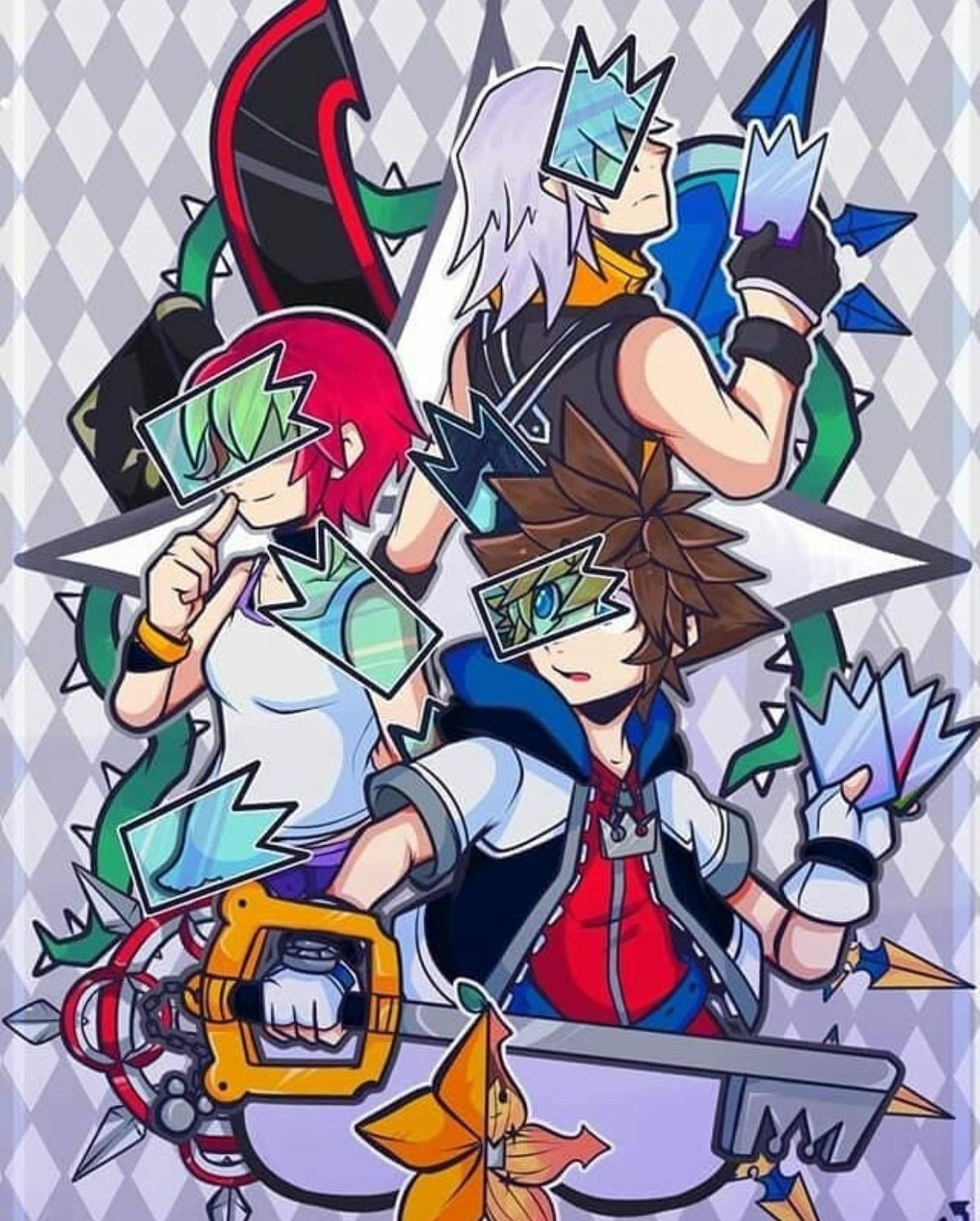 Pin By Emma Baldwin On Videogames Kingdom Hearts Fanart Kingdom