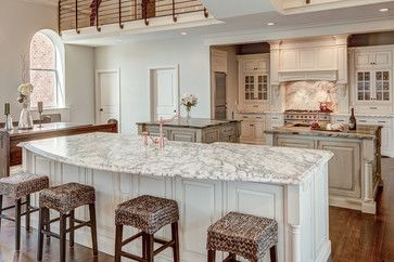Church to private residence, kitchen - traditional - kitchen ...