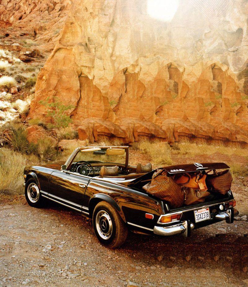 TheGentlemanRacer.com: Car Girls: Vintage Mercedes