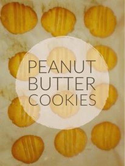 Recipe: Peanut Butter Cookies  http://www.twohensandtheirchicks.com/recipe-peanut-butter-cookies.html