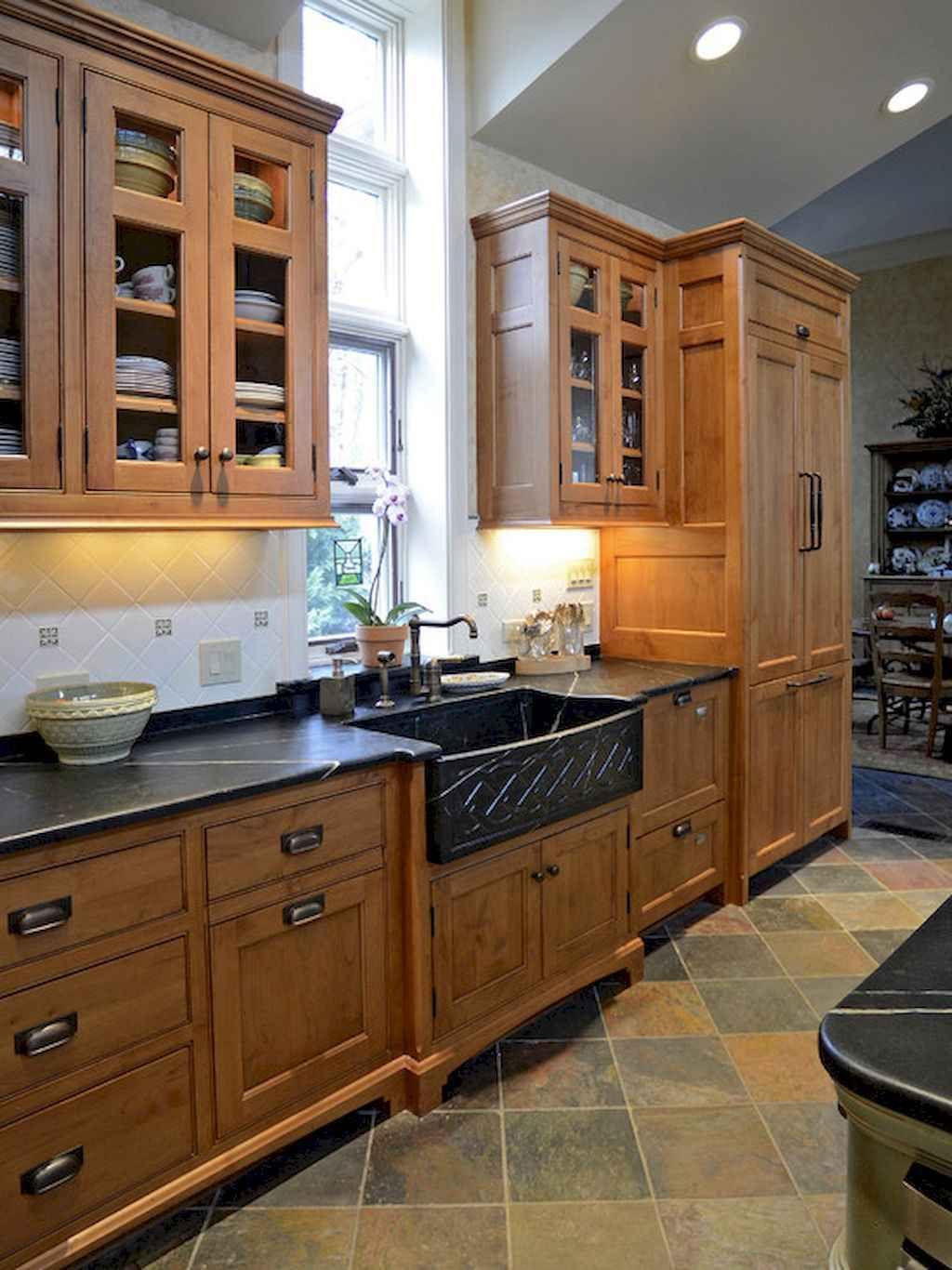 90 Rustic Kitchen Cabinets Farmhouse Style Ideas 46 Livingmarch Com Rustic Kitchen Cabinets Farmhouse Style Kitchen Cabinets Cottage Kitchen Cabinets