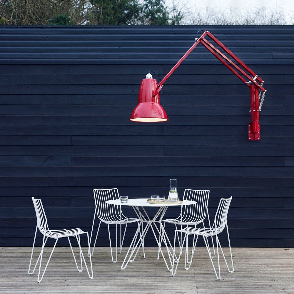 Anglepoise Original 1227 Giant Outdoor Wall Lamp Marine Blue