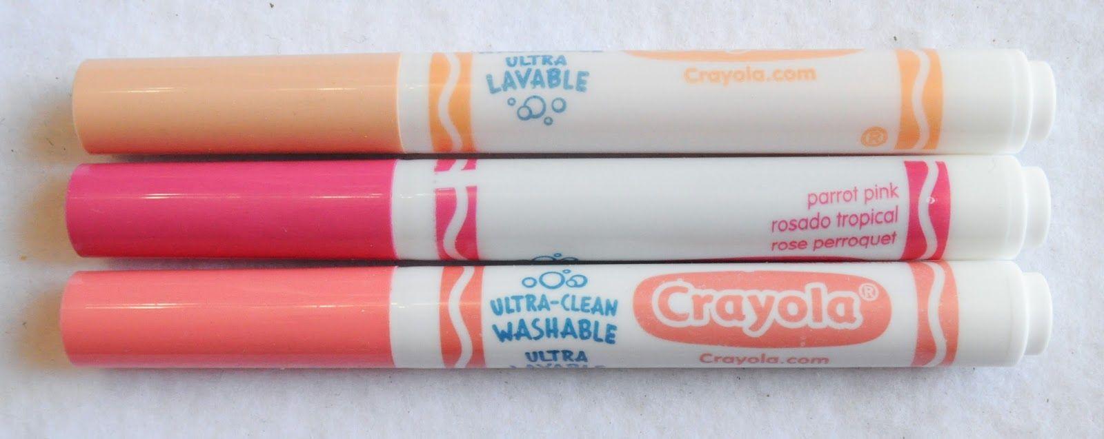 crayola marker maker how to make pink