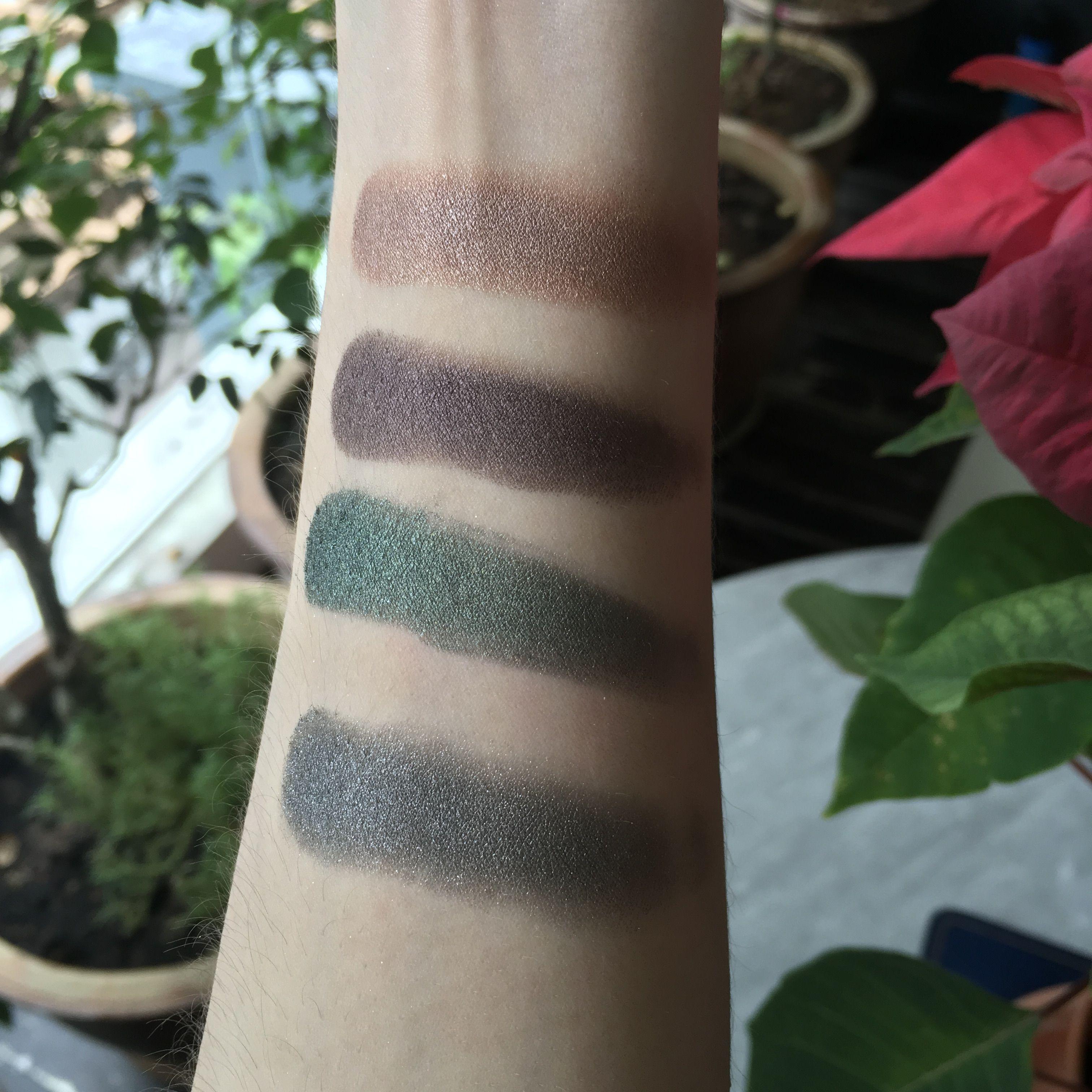 Bobbi Brown Luxe Eyeshadows In Metal Rose Liquid Mercury